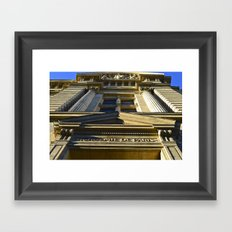 Academie De Paris Framed Art Print