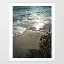 Posidonia Waves Art Print