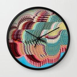 GLTCH Wall Clock