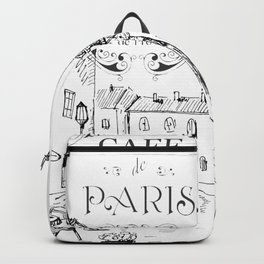 Cafe Paris Backpack