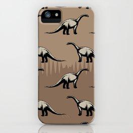 ChocoPaleo: Brontosaurus iPhone Case