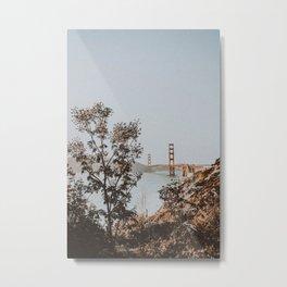 san francisco, california / golden gate bridge Metal Print