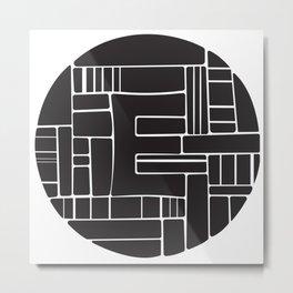 Circle E Metal Print