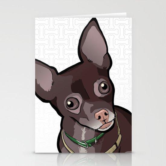 Taco T. Man (Chihuahua) Stationery Cards