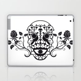 SKULL FLOWER 03 Laptop & iPad Skin