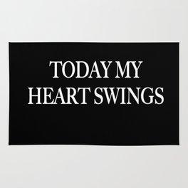 My Heart Swings Rug