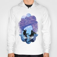 orca Hoodies featuring Orca  by nicky2342