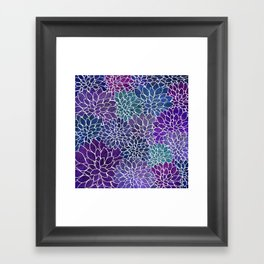 Floral Abstract 22 Framed Art Print