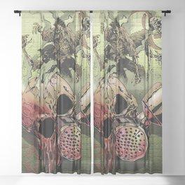 Code Red Sheer Curtain