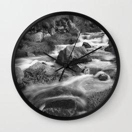 The Stream, Cot Valley, Cornwall, England, United Kingdom Wall Clock