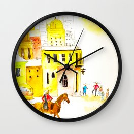 Somewhere in Mexico Wall Clock