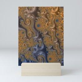 A Taste of Royalty - Fractal Art  Mini Art Print