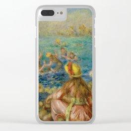 "Auguste Renoir ""Baigneuses"" Clear iPhone Case"