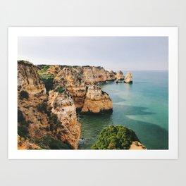 Ponta da Piedade, Lagos, Portugal 2 Art Print