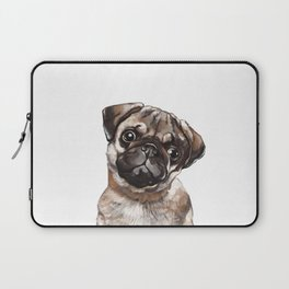 The Melancholy Pug Laptop Sleeve