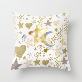 Brightest Star Throw Pillow