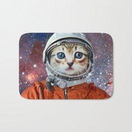 Astronaut Cat #4 Bath Mat