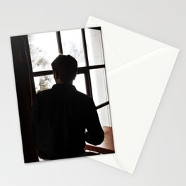 Through the Window Panes Stationery Cards