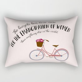 The Bicycle Rectangular Pillow
