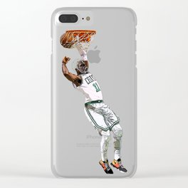 Kyrie Uncle Drew dunk art Clear iPhone Case