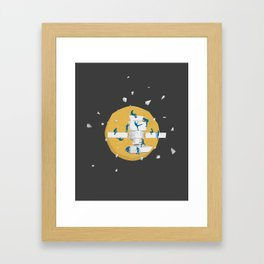 satellite Framed Art Print