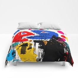Cannes French Riviera Croisette Carlton Art Comforters