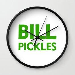 BILL PICKLES Wall Clock