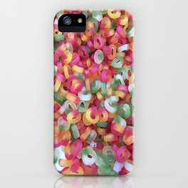 Jelly Rings iPhone Case