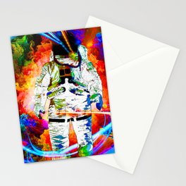 ASTRONAUT ESCAPE Stationery Cards