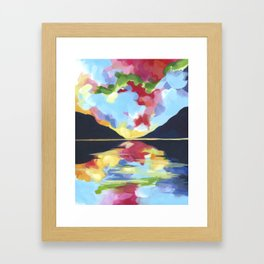 Reflections II Framed Art Print