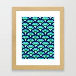 Rainbow connection - oceanic Framed Art Print