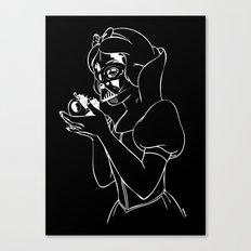 Snow Vader Canvas Print