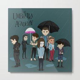 The Umbrella Academy Metal Print