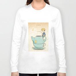 Tea Fishing Long Sleeve T-shirt