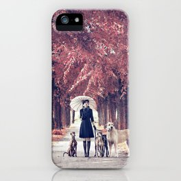 AUTUMN DOGS iPhone Case
