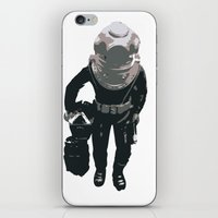 scuba iPhone & iPod Skins featuring Scuba Diver by Jentfah