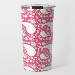The Whales dance Travel Mug