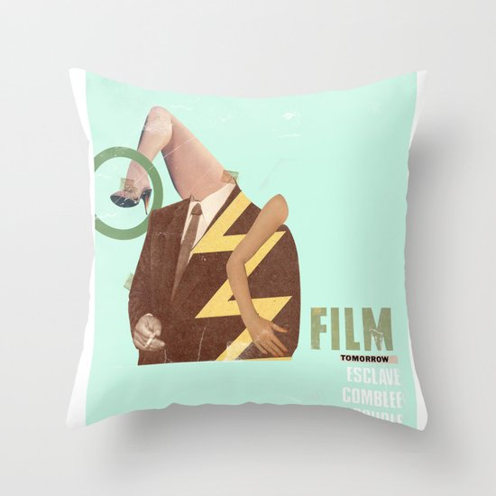 Charles Brown the story continued Throw Pillow