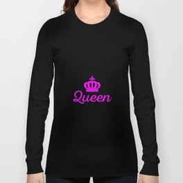 Baking Queen Long Sleeve T-shirt
