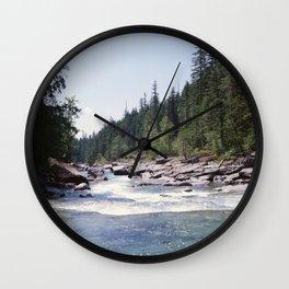 Avalanche Creek Wall Clock