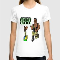 "pixar T-shirts featuring It's Combat Carl, From The Pixar/ABC/Disney ""Toy Story of Terror""!  Action Figures DO come ALIVE! by beetoons"