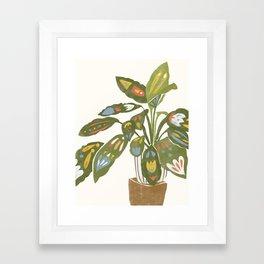 Scandinavian Plant Framed Art Print