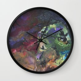 Glory in the Midst Wall Clock