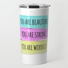 Self Worth Love Travel Mug
