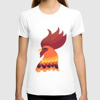 cock T-shirts featuring Cock by Volkan Dalyan