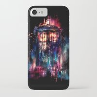 duvet iPhone & iPod Cases featuring All of Time and Space by Alice X. Zhang