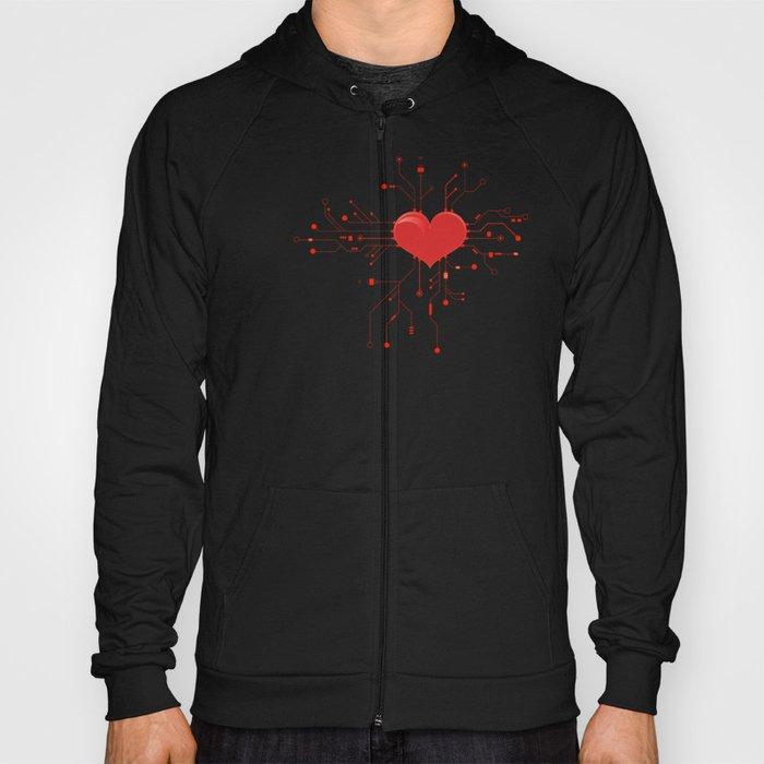 My Tech Heart Hoody