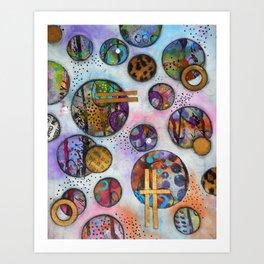 Original Abstract - The Markie Art Print