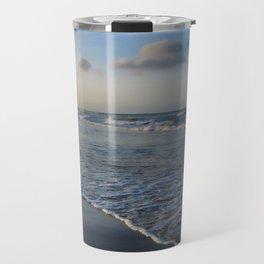 Summer sunset on the beach Travel Mug