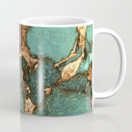 IZZIPIXX - EMERALD AND GOLD Coffee Mug